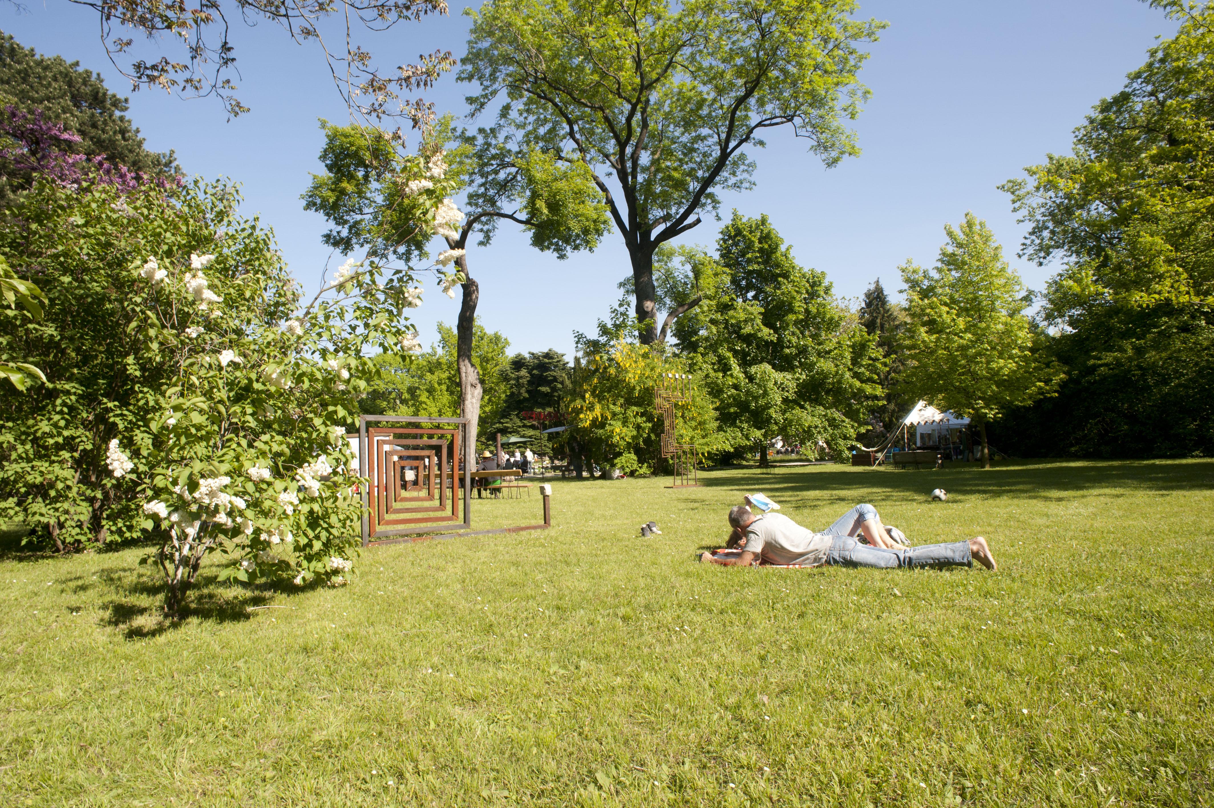 Salon Jardin - Wiens Gartensalon im Schlosspark Hetzendorf